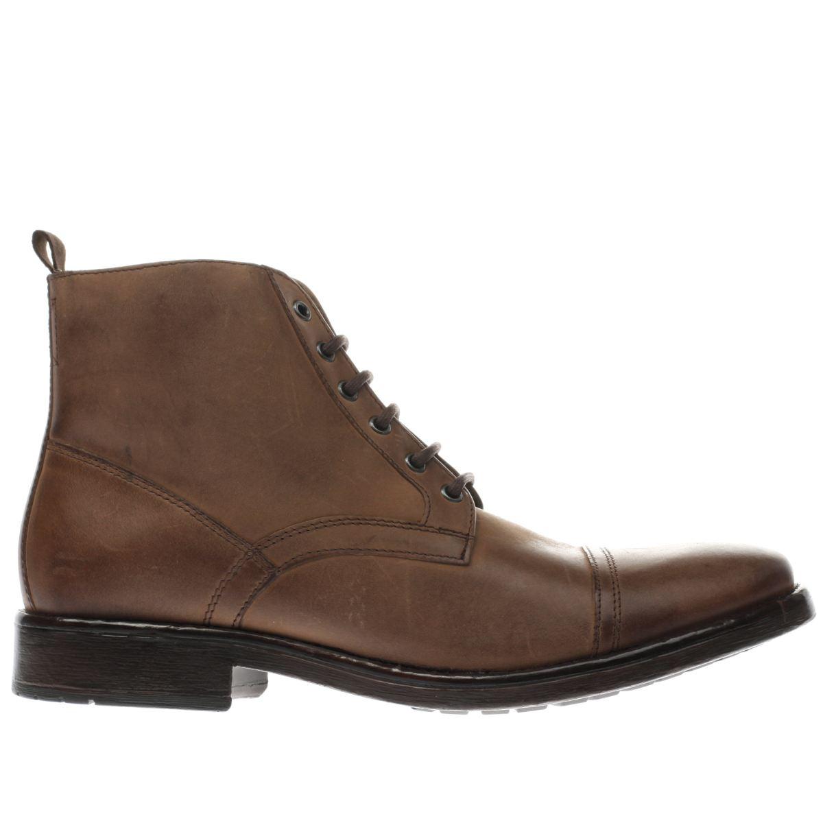 ikon dark brown drake cap boots