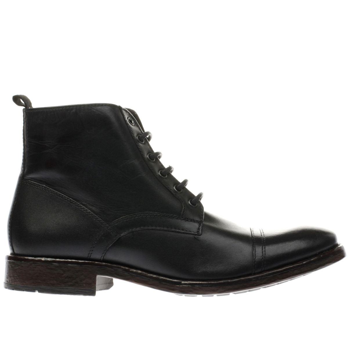 Ikon Black Drake Cap Boots
