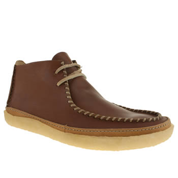 mens clarks originals brown vulco spear boots