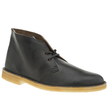 Clarks Originals Navy Desert Mens Boots