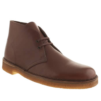 Mens Clarks Originals Brown Desert Boot Boots