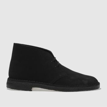 Mens Clarks Originals Black Desert Boot Boots