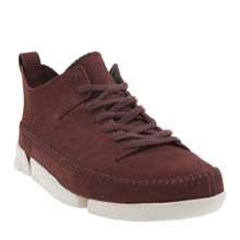Clarks Originals Burgundy Trigenic Flex Boots