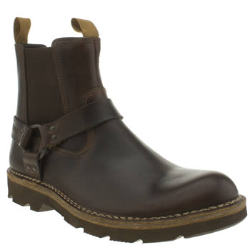 Clarks Originals Dark Brown Norton Mellor Top Boots