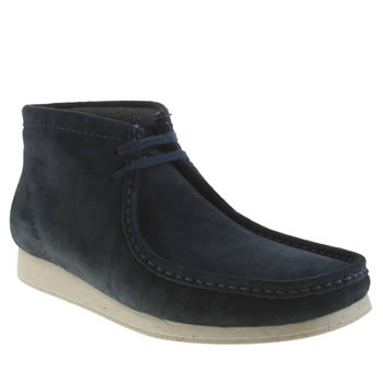 Clarks Originals Dark Blue Aerial Boots