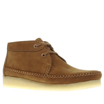 Clarks Originals Brown Weaver Boots