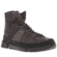 Clarks Originals Grey Trigenic Ridge Mens Boots