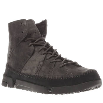 Clarks Originals Grey Trigenic Ridge Boots