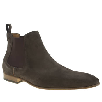 Paul Smith Shoe Ps Grey Falconer Boots