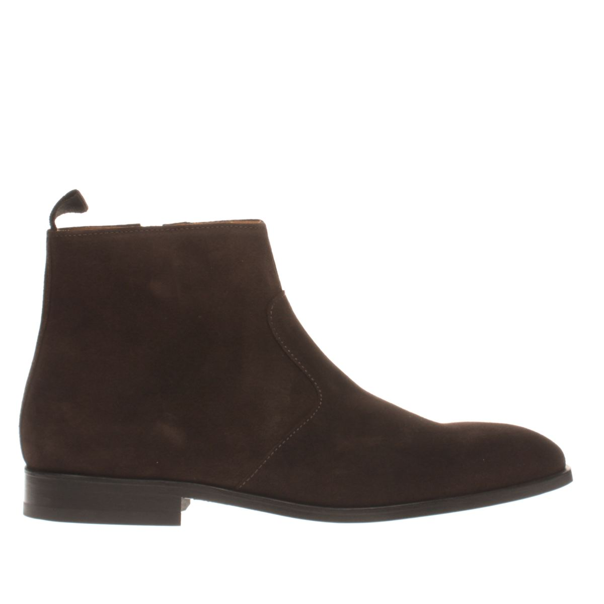 paul smith shoe ps dark brown mulder boots