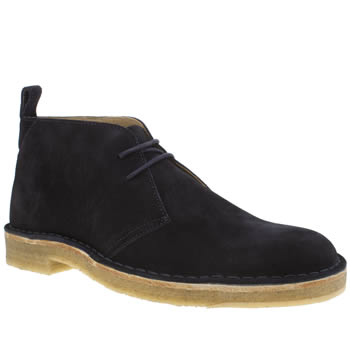 Paul Smith Shoe Ps Navy Wilf Mens Boots