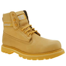Cat-Footwear Yellow Colorado Bright Mens Boots