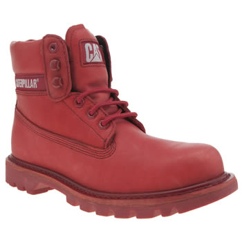 Cat-Footwear Red Colorado Bright Mens Boots