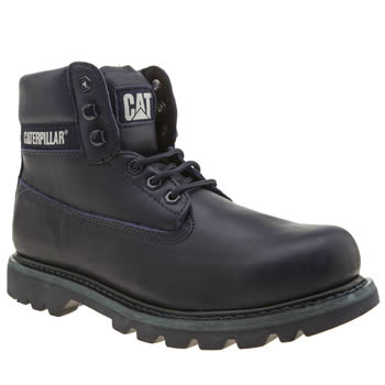 Cat-Footwear Blue Colorado Bright Mens Boots