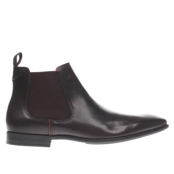 Paul Smith Shoe Ps Dark Brown Falconer Boots