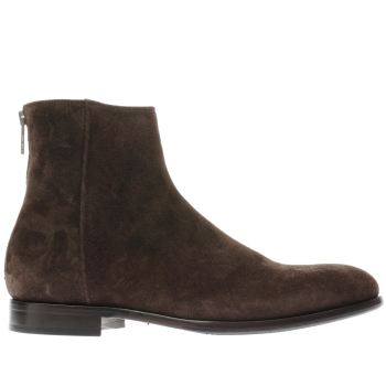 Paul Smith Shoe Ps Brown Jean Mens Boots