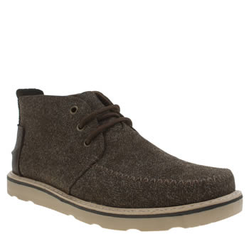 Toms Dark Brown Chukka Boots