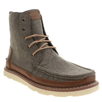 Mens Toms Grey Searcher Boots