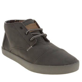 Toms Black Paseos Mid Shoes