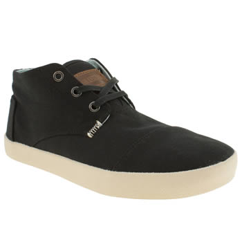 Toms Black Paseos Mid Boots