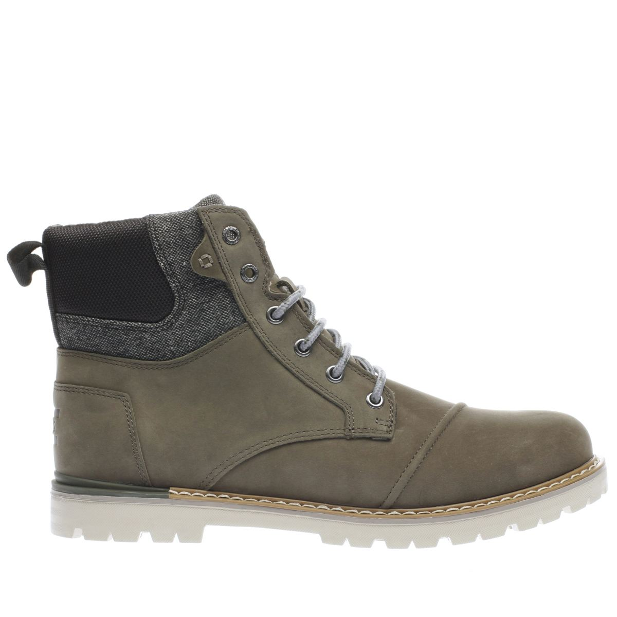 toms dark grey ashland boots