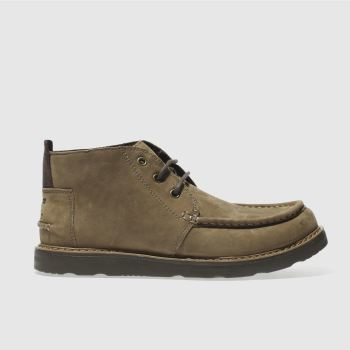 Toms Brown Chukka Mens Boots