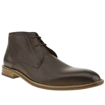 mens ted baker dark brown torsdi boots