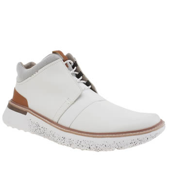 Ohw? White Craine Mens Boots