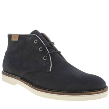 Mens Lacoste Navy Sherbrooke Hi Boots
