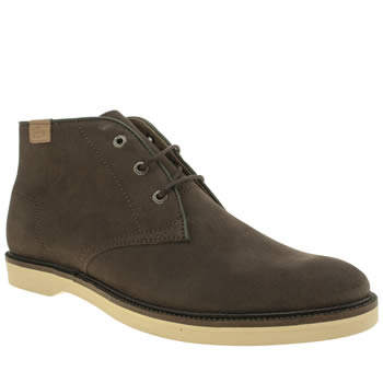 Mens Lacoste Brown Sherbrooke Hi Boots