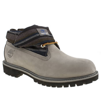 Timberland Grey Roll Top Baha Boots