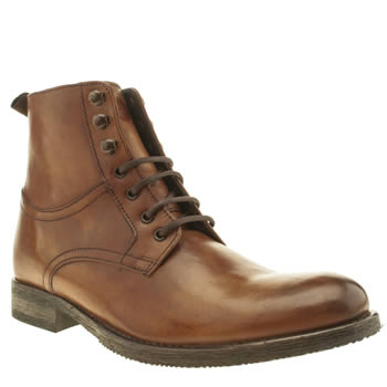 Ikon Tan Officer Hi Boots
