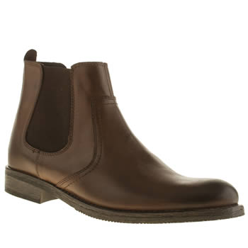 Ikon Brown Officer Chelsea Boots