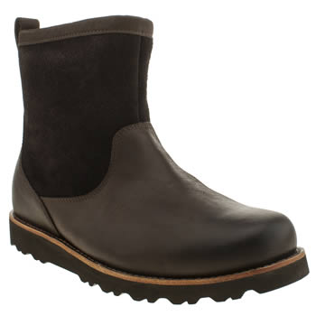 Mens Ugg Australia Dark Brown Munroe Boots