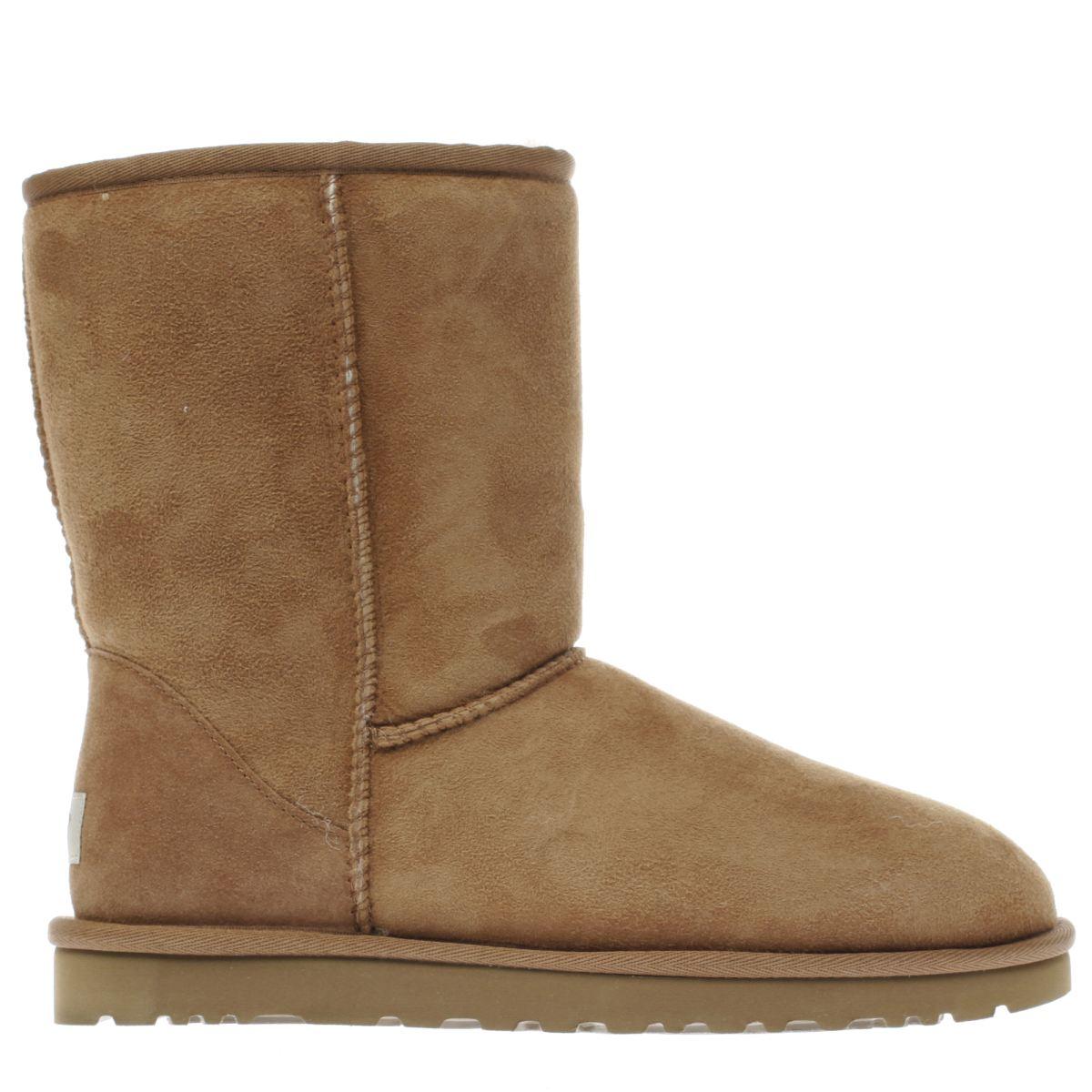 ugg tan classic short boots