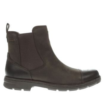 Ugg Australia Dark Brown Runyon Boots