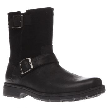 Ugg Australia Black Messner Mens Boots