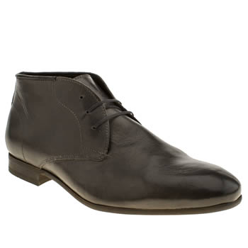 H By Hudson Dark Grey Rene Chukka Boots