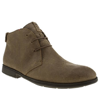 Mens Camper Dark Brown Mil3 Boots