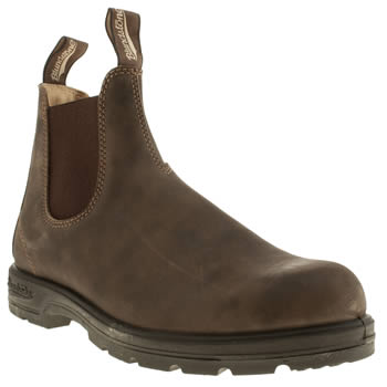 Blundstone Brown 585 Pull On Boots