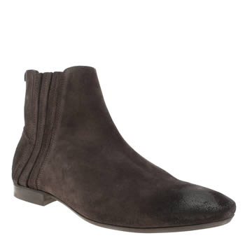 H By Hudson Dark Brown Larner Boots