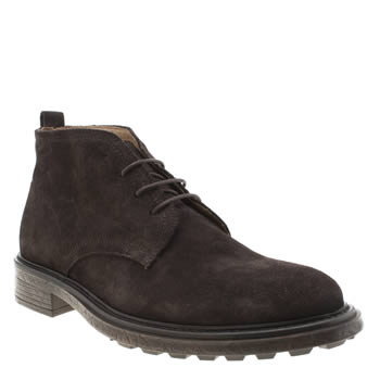 H By Hudson Dark Brown Garrod Boots
