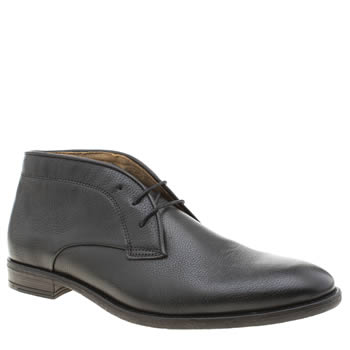 H By Hudson Black Lockner Mens Shoes