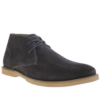 Frank Wright Navy Murray Boots