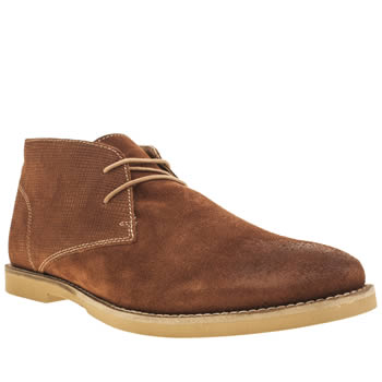 Mens Frank Wright Tan Murray Boots