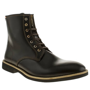 Mens Paul Smith Shoes Black Haiti Boots