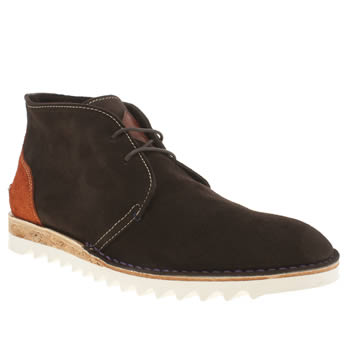 Mens Paul Smith Shoes Brown Callisto Boots