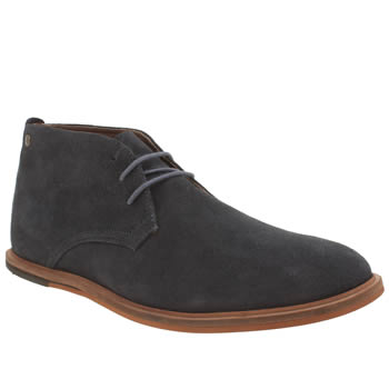 Mens Frank Wright Blue Strachen Boots