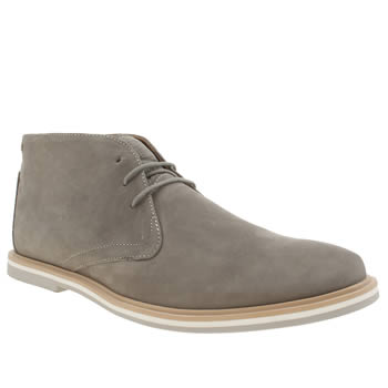 Mens Frank Wright Grey Barnet Boots