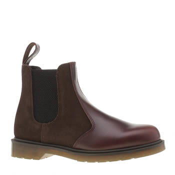 Dr Martens Dark Brown 2976 Chelsea Mens Boots